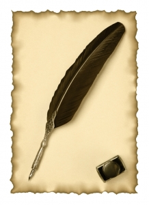 1558103-feather-quill-and-inkwell-on-an-old-paper